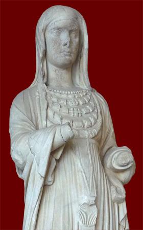 statue of Aurelia Paulina